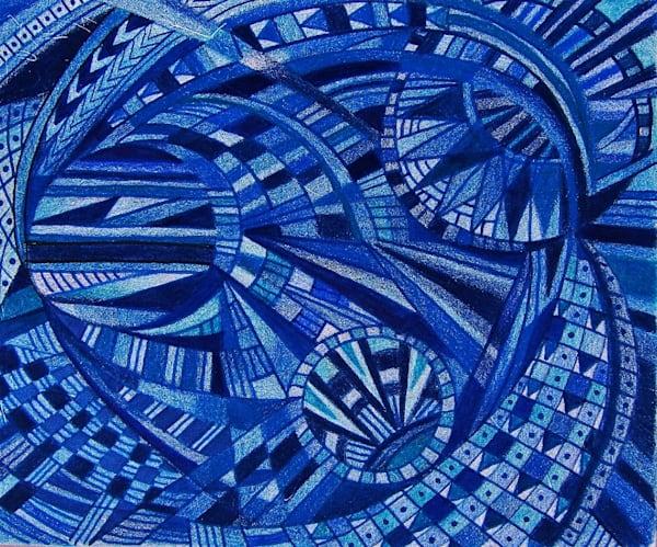 Blue Stars Of The Galaxy | lencicio