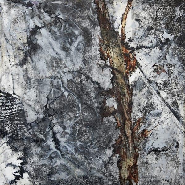 Minnesota Winter (B) Art | Modern Encaustics LLC