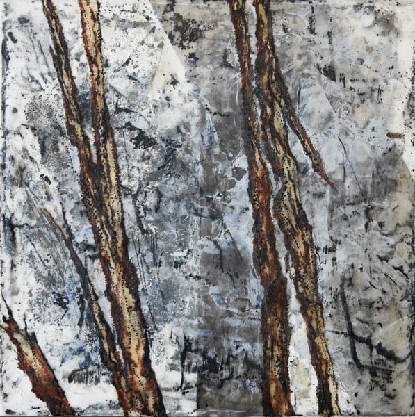 Minnesota Winter (A) Art | Modern Encaustics LLC