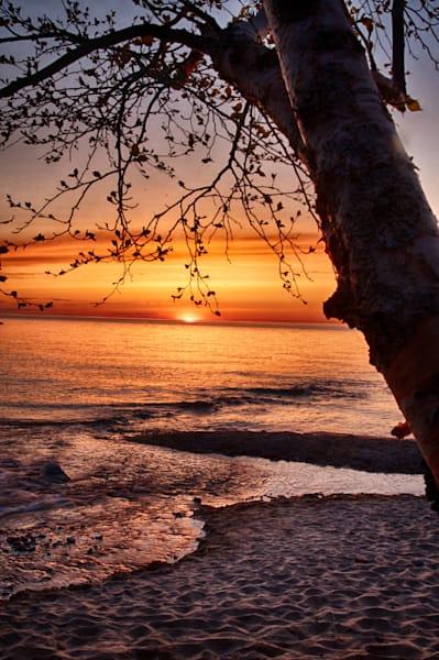 Hurricane Beach Sunset