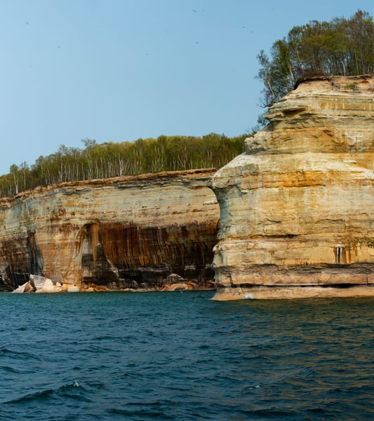 Pictured Rocks Indian Chief