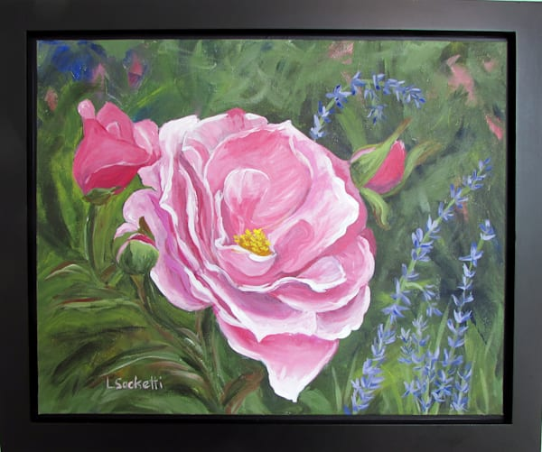 Pretty In Pink Art | Linda Sacketti