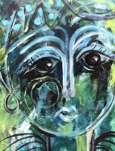 Covid Blues Diva Art | merlynbost