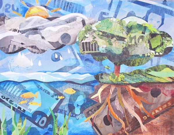 Currency Of Life   Original Art | Metaphysical Art Gallery