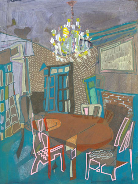 30 S 2nd Street No. 101 /// Sold Art   Erika Stearly, American Artist