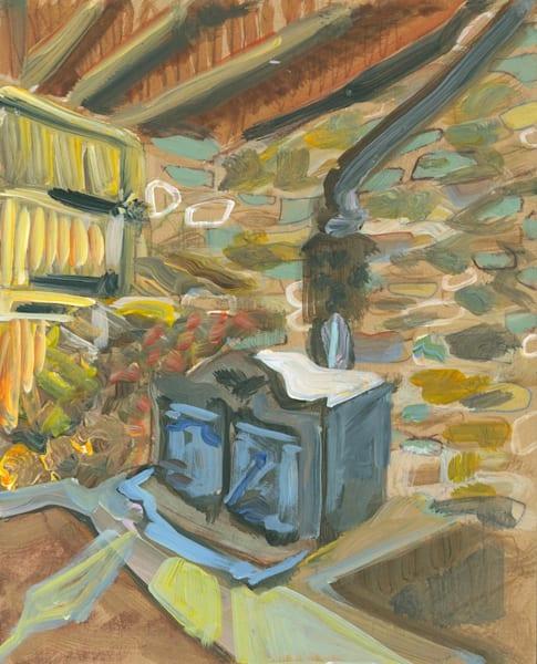 Fleshman Mill Road No. 01 Art | Erika Stearly, American Artist