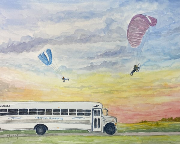The Flying Daughertys Art | alanajudahart