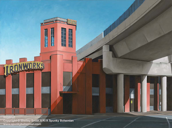 Ironworks | Denver | Original Oil Painting