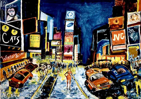 Beautiful Street Of New York Art   Art Impact® International Inc