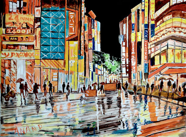 Dazzling City Art   Art Impact® International Inc