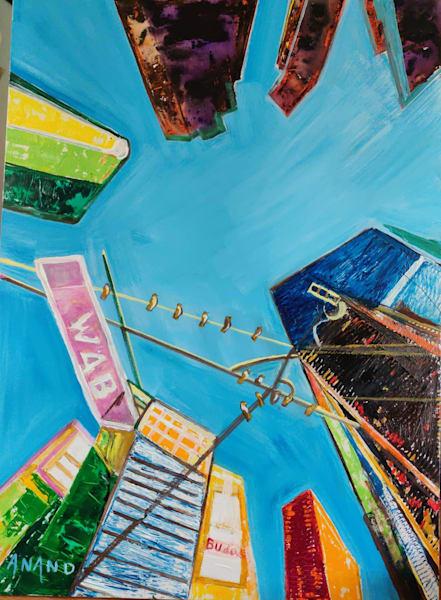Skyscrapers Art   Art Impact® International Inc