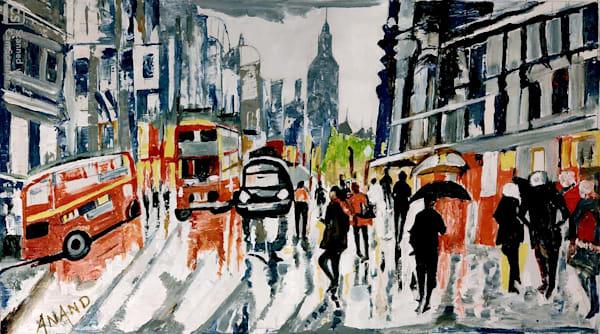 A Rainy Day In Paris Art   Art Impact® International Inc