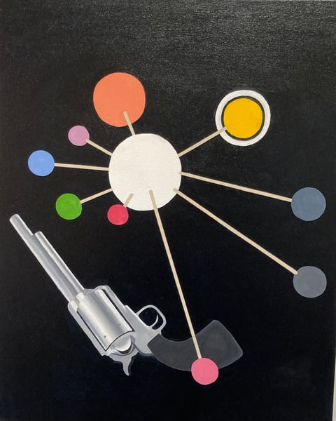 Model Of The Solar System With 45 70 Art | David R. Prentice
