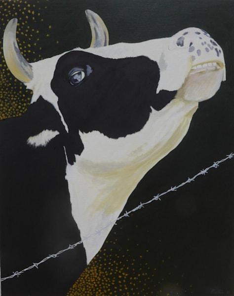 La Jolie Vache Iv Art | David R. Prentice