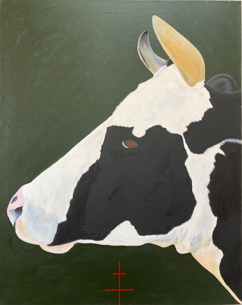 La Jolie Vache Iii Art | David R. Prentice