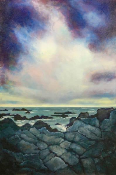 Monterey Coastal Rocky Shoreline