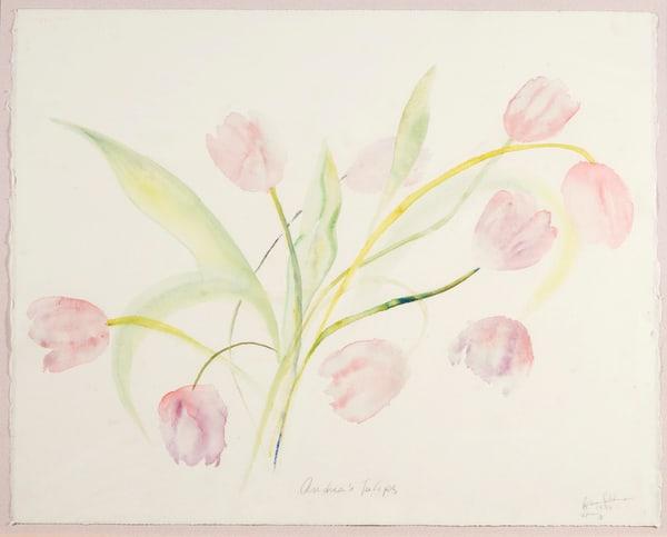 Andrea's Tulips Art | Ruth Feldman Fine Art