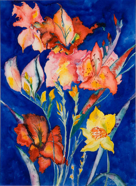 The Garden Ignites Art | Ruth Feldman Fine Art