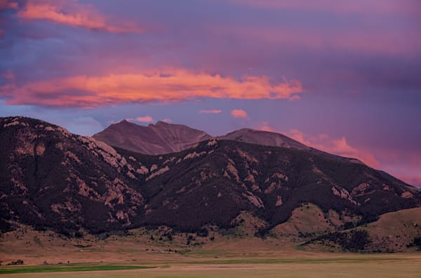 Evening Fan And Foothills Photography Art   Monty Orr Photography