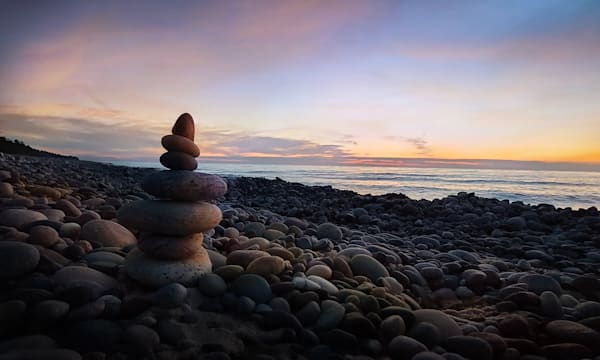 Lake Superior is a stunning view of a typical sunset in July/ Shop fine art photography by An Artist's View Photography