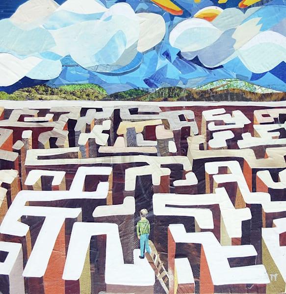 Beyond The Maze   Original Art | Metaphysical Art Gallery