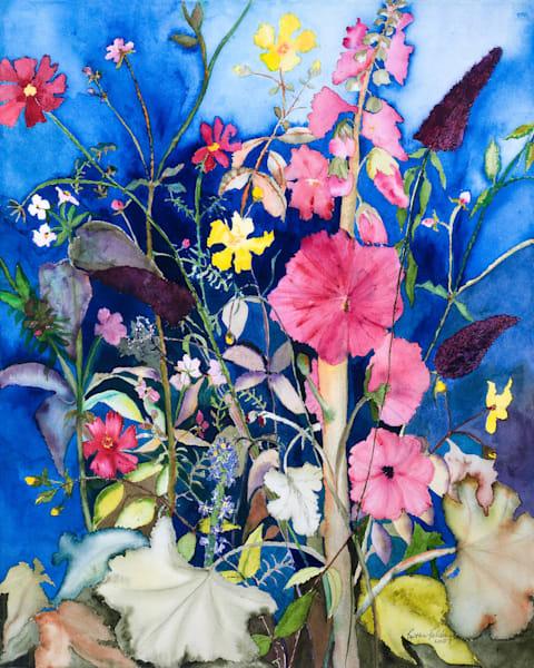 The Garden At Night Art | Ruth Feldman Fine Art
