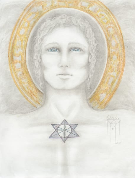 Archangel Michael Drawing