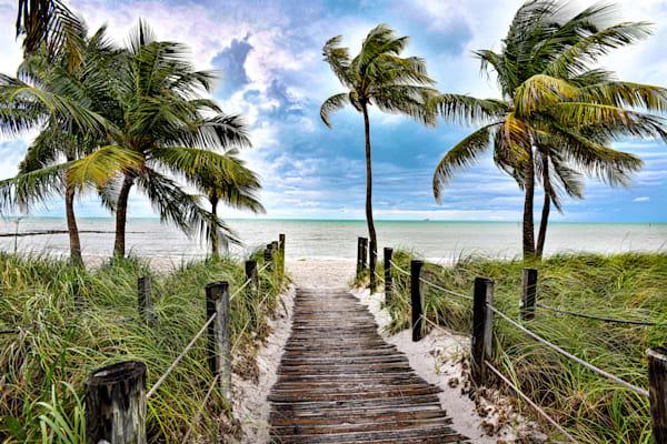 Key West Beach Walk Art   Frasier Photography