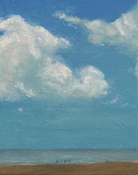 Day At The Beach  • Original Art   Kate Wilson Fine Art
