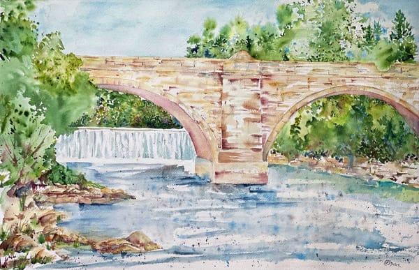 Elkader Keystone Bridge Art | Color Splash Ranch