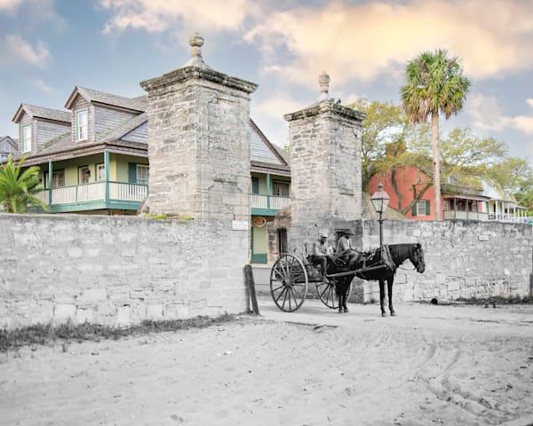 Old City Gate 1894 Art | Mark Hersch Photography