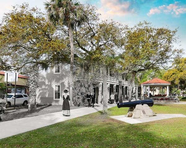 Post Office And Plaza De La Constitucion Art | Mark Hersch Photography