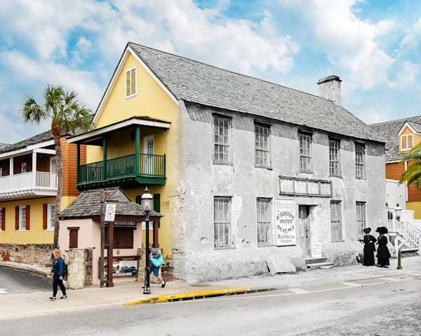 Old Museum And Historical Society On Bay Street Art | Mark Hersch Photography