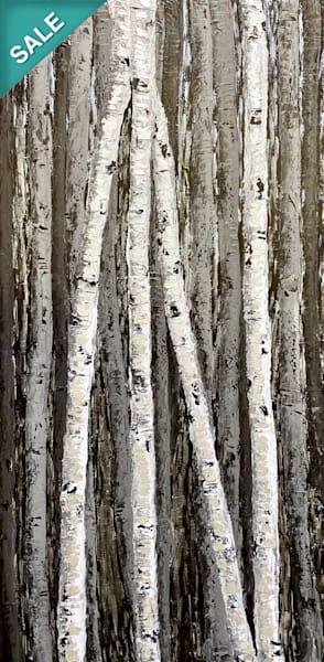 Silver Rain   Original Oil Painting Art   Tessa Nicole Art