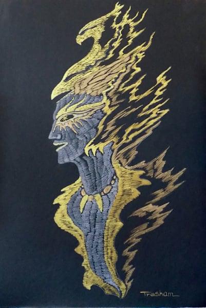 Mystic Shaman  | treshamgregg - spiritart