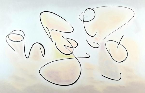 Shall We Dance - Original Oil Painting