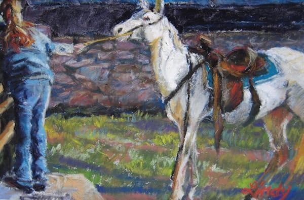 Lindy C Severns Art | A Stubborn Streak, signed edition