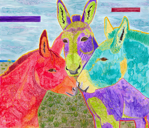 The Rainbow Connection Art | Rudolph Fine Art