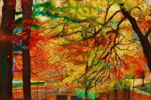 Down 214 Th St At Inwood Park Manhattan Art | lencicio