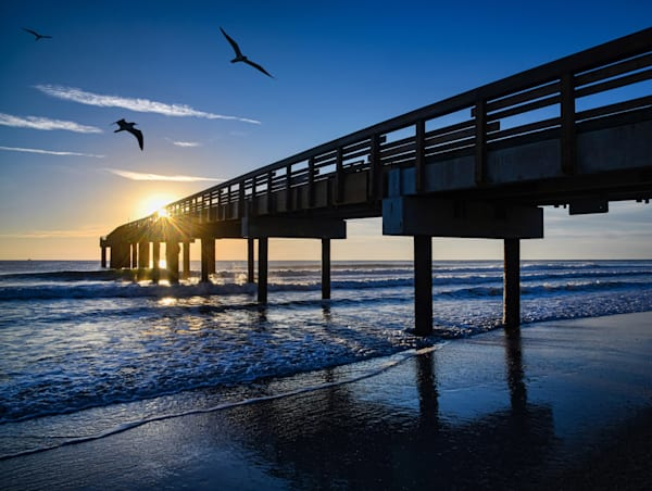 St. Augustine Pier   Dawn Art | Frasier Photography
