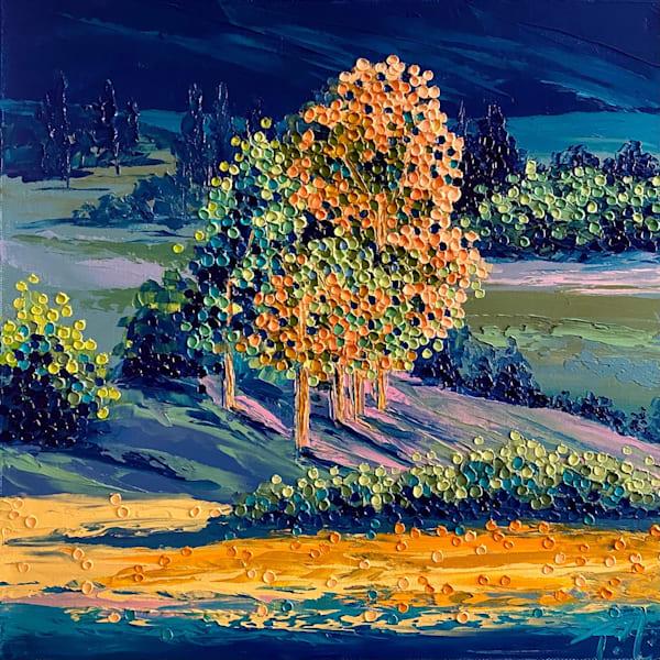 Got The Blues   Original Oil Painting Art | Tessa Nicole Art