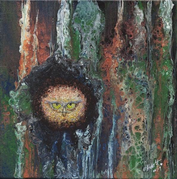 Acute Owl Art   lisaabbott