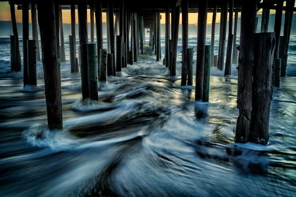 Under Kitty Hawk Pier | Shop Photography by Rick Berk
