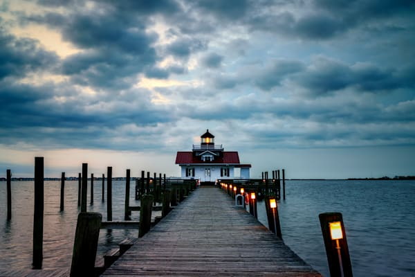 Roanoke Marshes Lighthouse | Shop Photography by Rick Berk