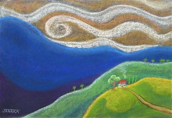 Overlooking The Valley Art | janakastagnaro