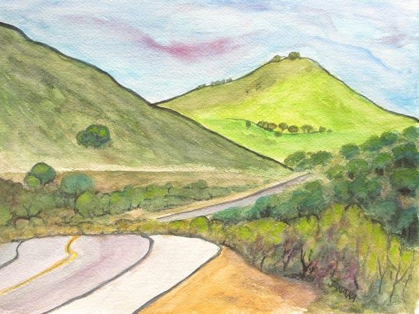 Along Carmel Valley Road  Art | janakastagnaro