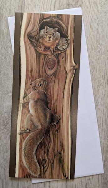 Three In A Tree Card | Lori Vogel Studio