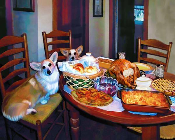 Dinnertime Art   Light Pixie Studio