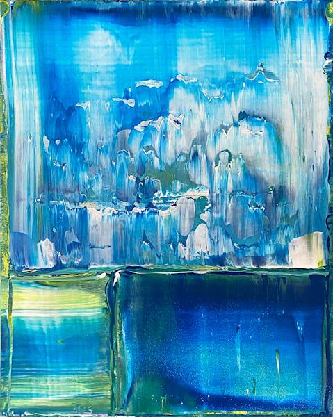 Patagonia original PMS abstract acrylic