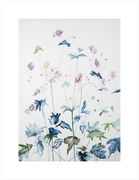 Japanese Anemones Art | Ruth Feldman Fine Art